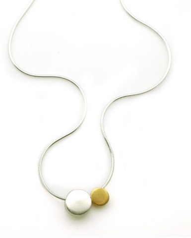Philippa Roberts Two Pebble Necklace