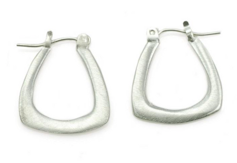 Philippa Roberts Small Triangle Hoop Earring