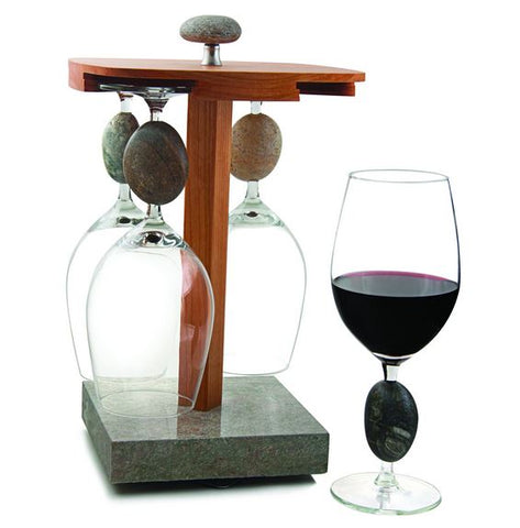 SeaStones Pirouette Wine Stand Set