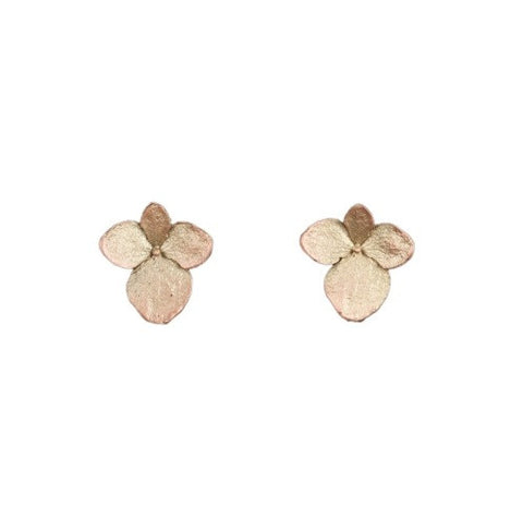 Michael Michaud Hydrangea Post Earrings
