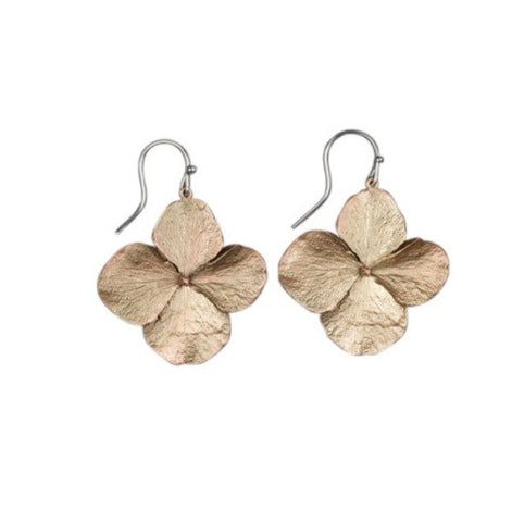 Michael Michaud Hydrangea Wire Earrings