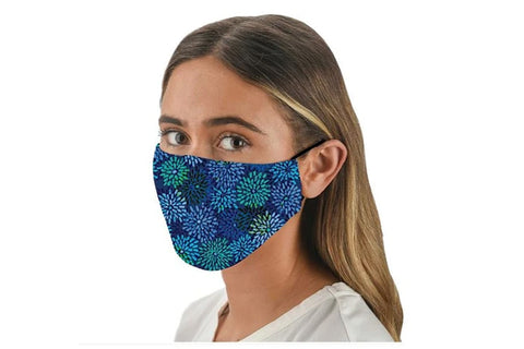 Fabric Face Mask Covering - Fireworks