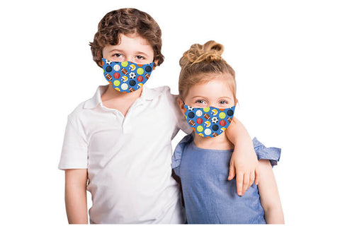 Kids Face Mask Covering - Sports