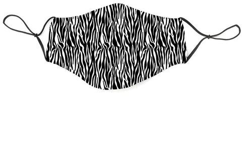 Fabric Face Mask Covering - Zebra