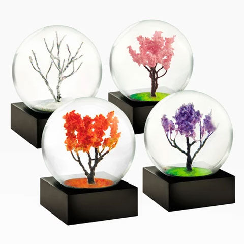 """Mini Four Seasons"" Snow Globes"