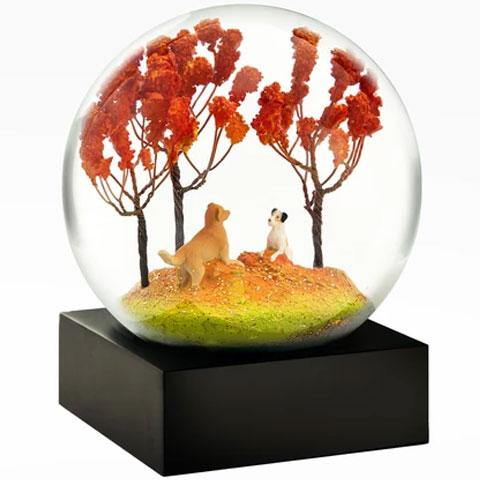 """Autumn Pals"" Snow Globe"