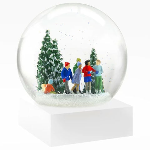 """Ice Skaters"" Snow Globe"