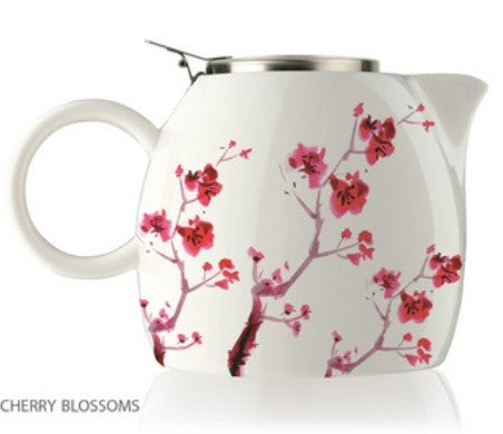 Cherry Blossom tea pot