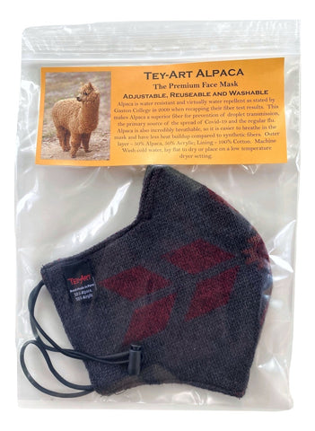 Alpaca Mask-Monterey Grey