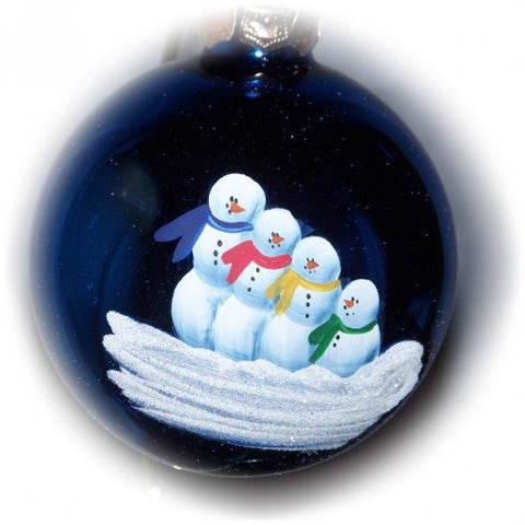 Handpainted Family Ornament