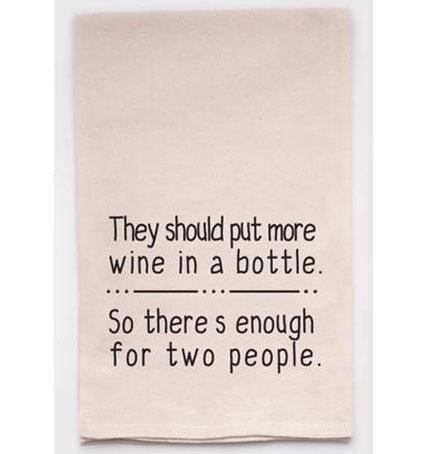 Kitchen Towel Wine Lovers