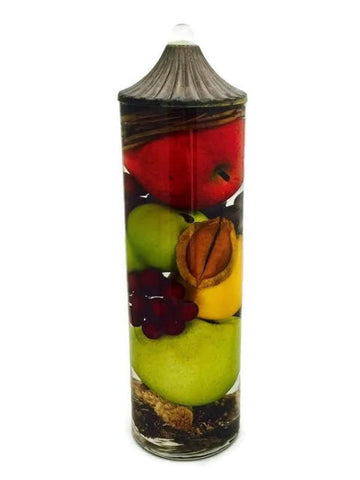"Lifetime Oil Burning ""Fruit Bowl"" Theme Candles"