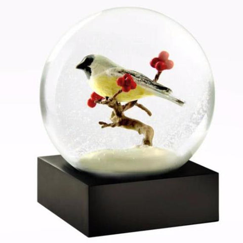 """Chickadee"" Snow Globe"