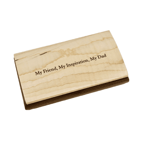 Engraved Quote Box - Dad