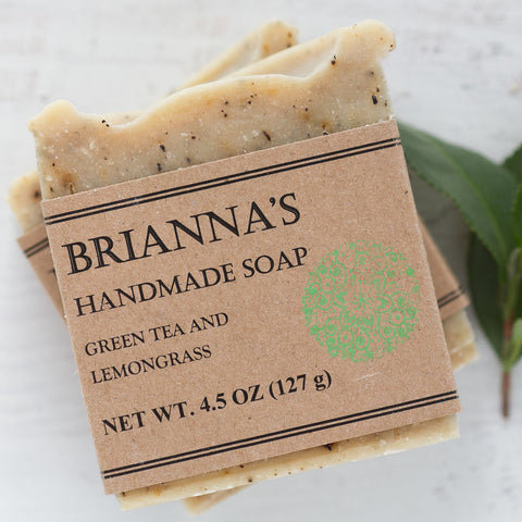 Handmade Soap Green Tea & Lemongrass