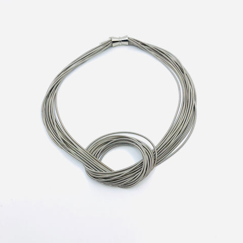Piano Wire Loop Jewelry