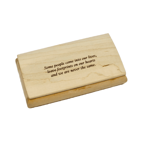 Engraved Quote Box - Some People