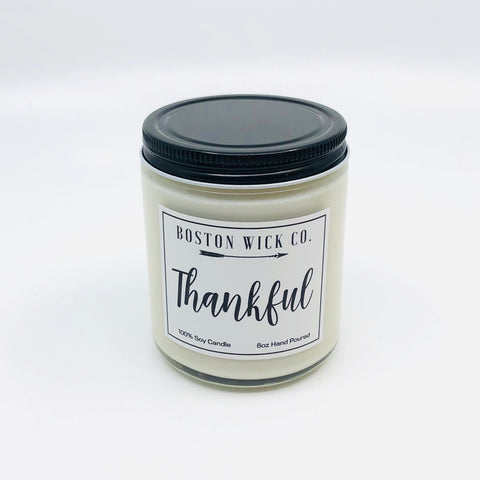 Soy Candles - Thankful
