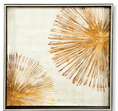 Art Tray - Gold Sunbursts
