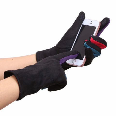 Sueded Texting Gloves