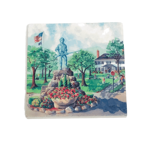 Lexington Green Stone Coaster