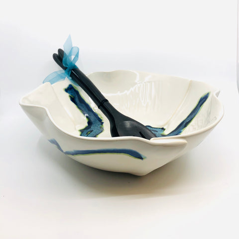 Hilborn Studio Large Salad Bowl Set