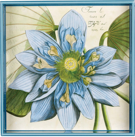 Art Tray - Blue Lotus