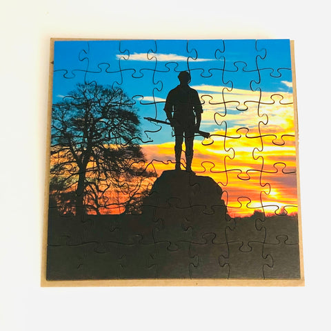 Art Puzzle Lexington Minuteman