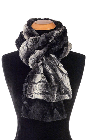 Faux Fur Classic Scarf - Honey Badger
