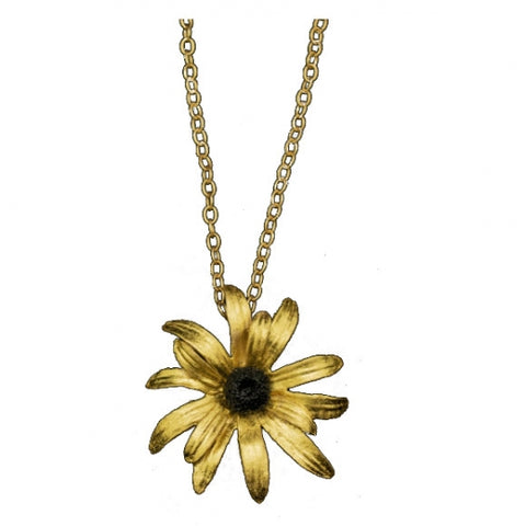 Michael Michaud Black-Eyed Susan Necklace - Large
