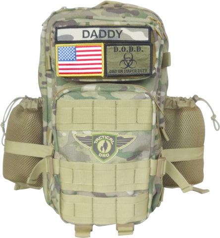 Camo Daddy Diaper Bags From The Original Tactical Dad