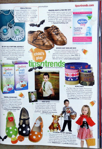 Justkidcostumes Parents Magazine featured page