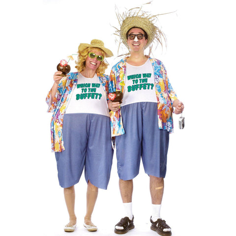 Tacky Traveler  Adult Costume