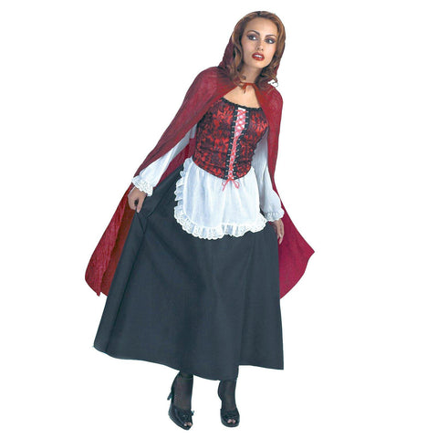 Red Riding Hood Deluxe Adult Costume