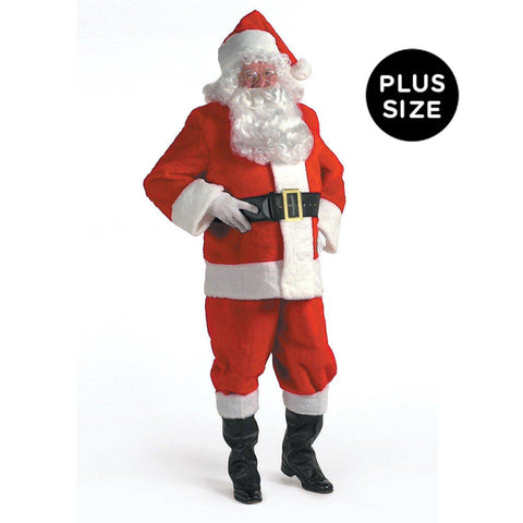 Kris Kringle Suit Adult Plus Costume