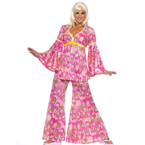 Flower Power Hippie Adult Costume