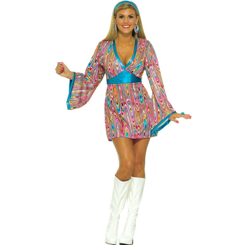 Wild Swirl Dress Adult Costume