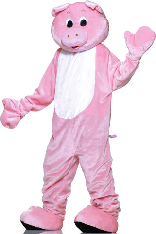 Pig Plush Economy Mascot Adult Costume