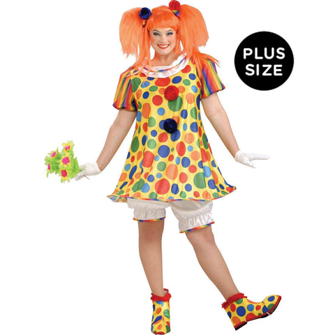 Giggles The Clown Adult Plus Costume