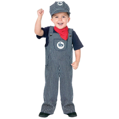 Jr. Train Engineer Suit Toddler / Child Costume