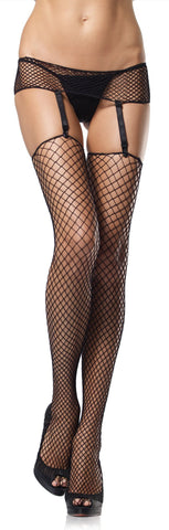 Fence Net Garter Belt & Stocking Set Adult