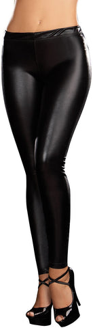 Liquid Black Leggings Adult