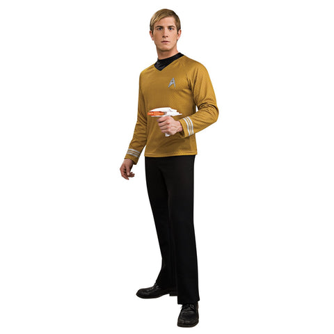 StarTrek Movie (2009) Gold Shirt Adult Costume