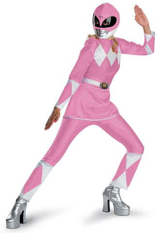 Power Rangers Pink Ranger Deluxe Adult Costume