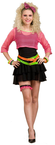 80s Groupie Adult Costume