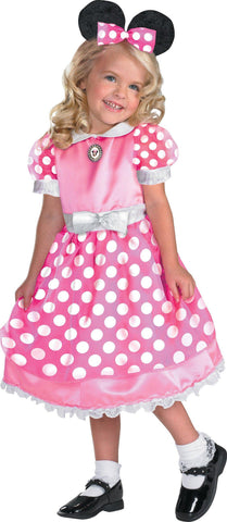 Disney Clubhouse Minnie Mouse (Pink) Toddler / Child Costume