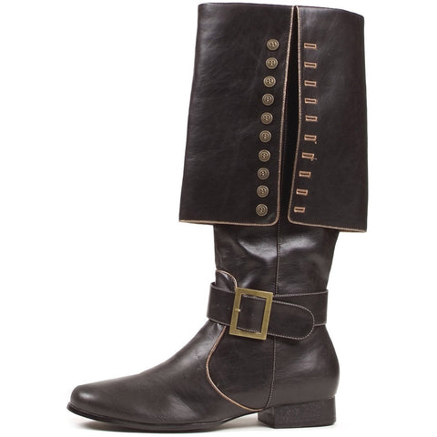 Captain (Black) Adult Boots