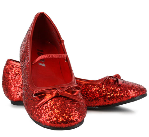 Sparkle Ballerina (Red) Child Shoes