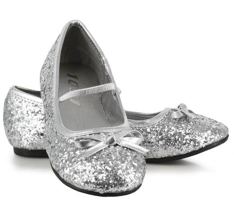 Sparkle Ballerina (Silver) Child Shoes