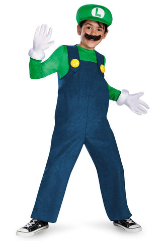 Super Mario Bros. - Luigi Deluxe Toddler / Child Costume